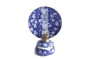 vintage blue and white chinoiserie home decor