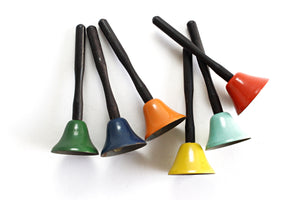 Vintage Music Class Hand Bells, Learning Bells