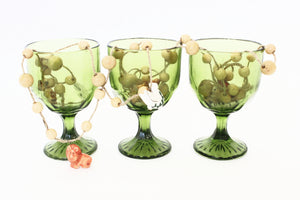 sustainable home decor vintage glassware