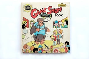 Vintage Children's Book, The Game Show Book, Kids Travel Game