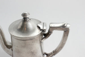 Pewter Teapot, Coffee Pot, International Silver Co.