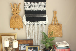 Woven Straw Art, Wall Hangings, Made in Mexico