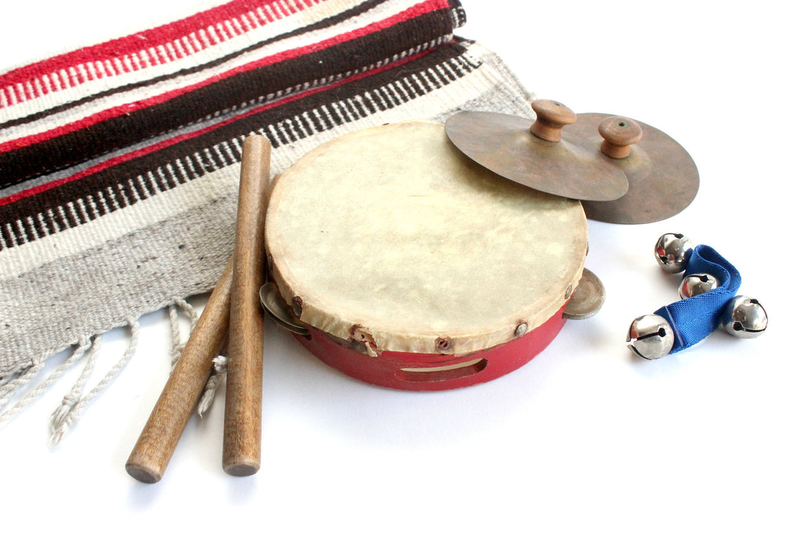 Vintage Children's Percussion Instruments