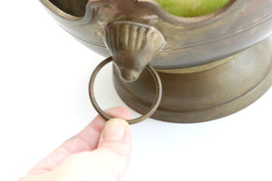 Brass Fuit Bowl, Decorative Bowl, Centerpiece