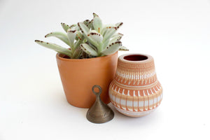 Native American Style Clay Pot, Decorative Ceramics, Folk Art