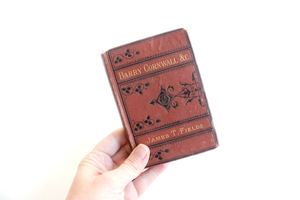 Antique Book 1876 edition, Vest Pocket Series of Standard and Popular Authors,  Book Collectors Gift