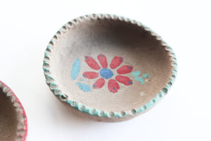 Small Clay Ring Dishes, Jewelry Holder, Earring Plate