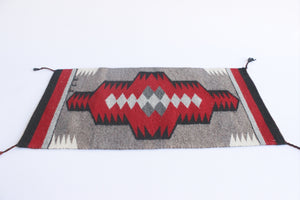 Authentic Navajo Rug, Woven Wall Decor, Table Top Accent