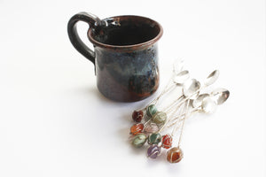 Silver Plated Teaspoons, Small Coffee & Tea Stirring Spoons
