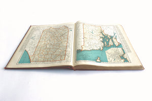 1940 Edition of the Collier's World Atlas and Gazetteer, Vintage Maps