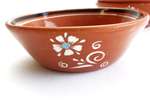 Set of 5 Vintage Terra-Cotta Bowls