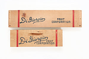 Vintage Wooden Sign, Fruit Box Crate Board