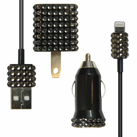 Bling 3-in-1 for iPhone 5 - Black