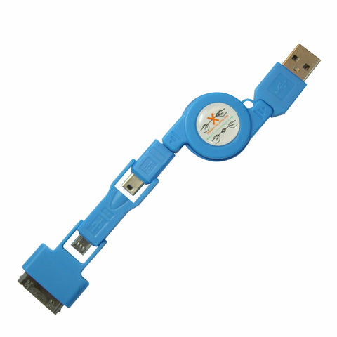 Stacks USB cable - Blue