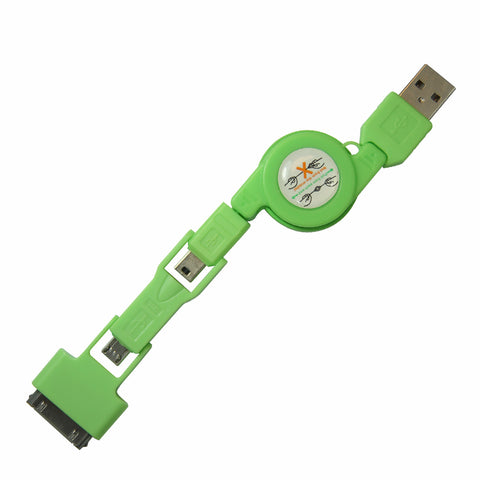 Stacks USB cable - Green