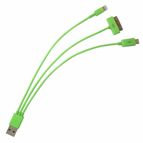 Whip USB cable - Green