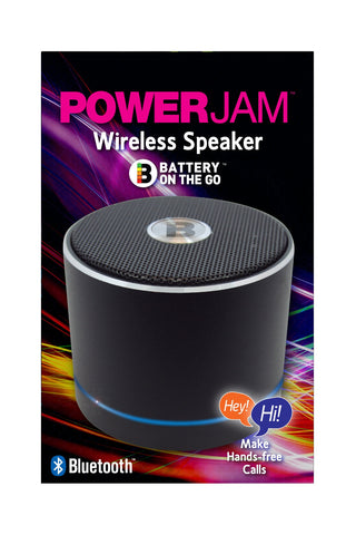 PowerJam Bluetooth Speaker - Black