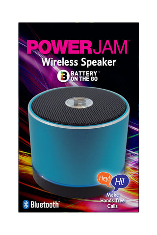 PowerJam Bluetooth Speaker - Blue