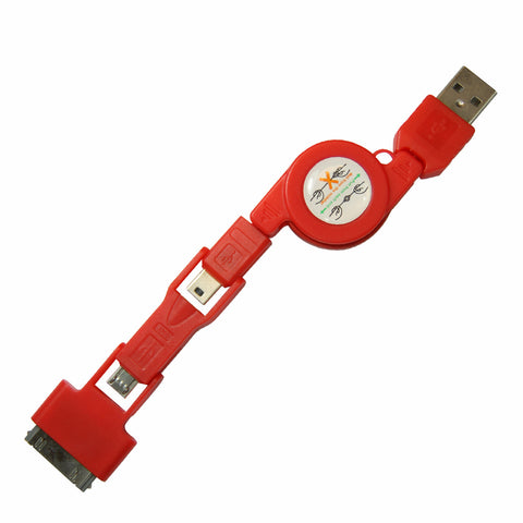Stacks USB cable - Red