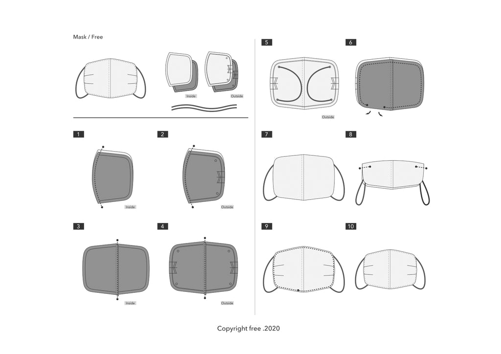 Mask Pattern PDF-data / Free