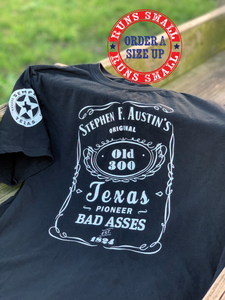 Austin's Old 300 Pioneer Bad Asses shirt