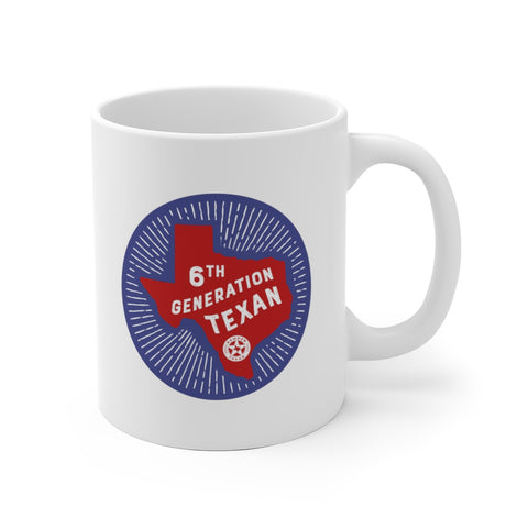 6th Generation Texan Mug