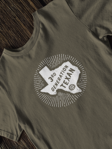 3rd Generation Texan Shirt