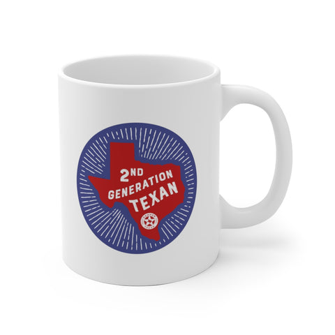 2nd Generation Texan Mug