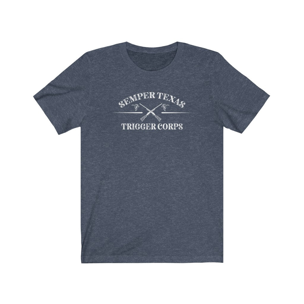 Semper Texas Trigger Corps - Texas Hunting tee