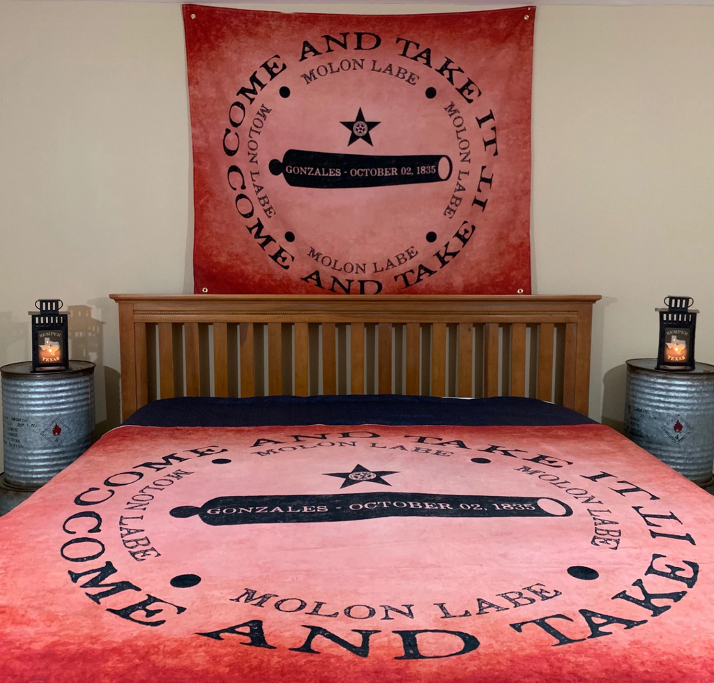 Come & Take It, Large Fleece Blanket