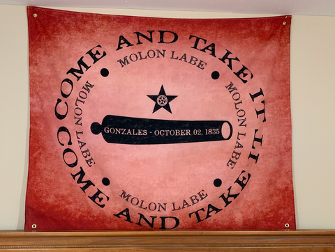 Come & Take It, Gonzales 1835 Wall Hanging
