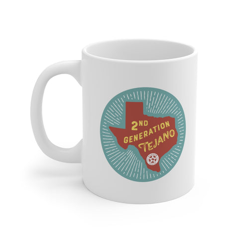 2nd Generation Tejano Mug