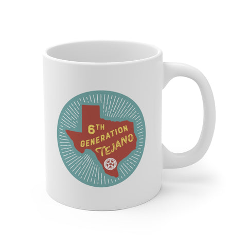 6th Generation Tejano Mug