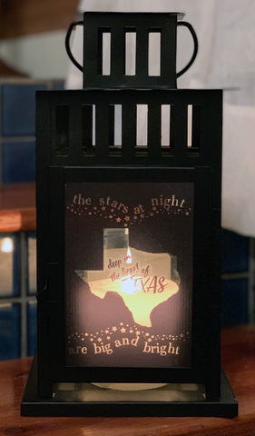 The Stars at Night Are Big & Bright....Texas Lantern