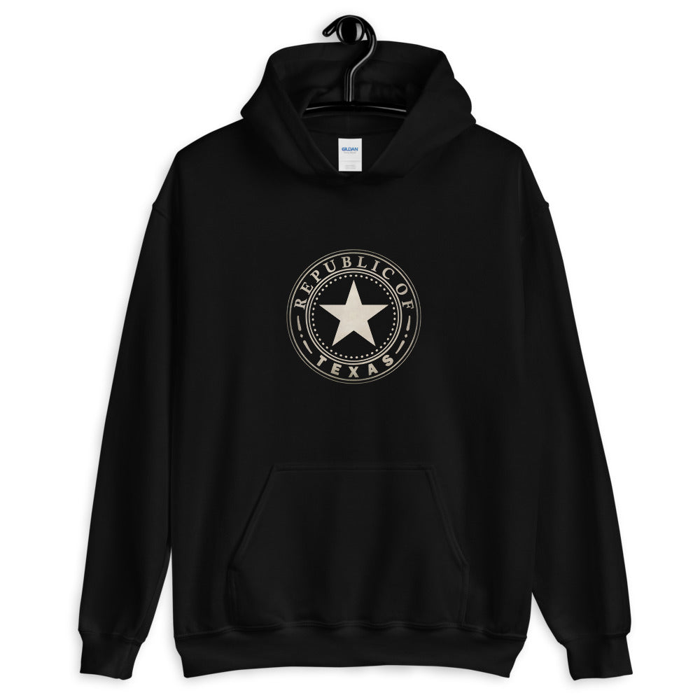 Seal of the Republic of Texas Hooded Sweatshirt