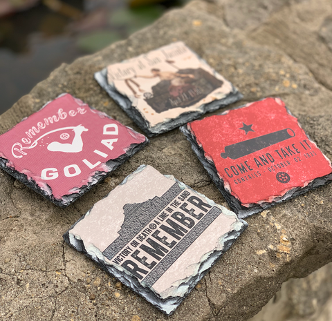 Texas Revolution Coasters (set of 4)