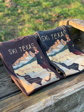 Ski Texas! Republic of Texas Tourism shirt
