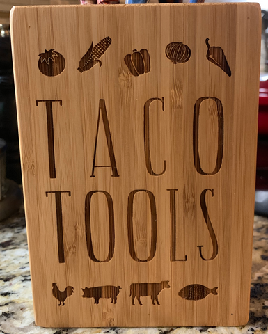 Taco Tools - Texas Kitchen Utensil Holder