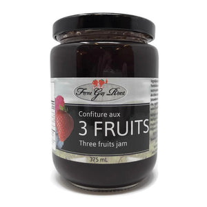 Confiture aux 3 fruits