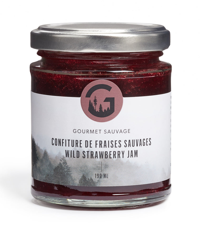 Load image into Gallery viewer, Confiture de fraises sauvages