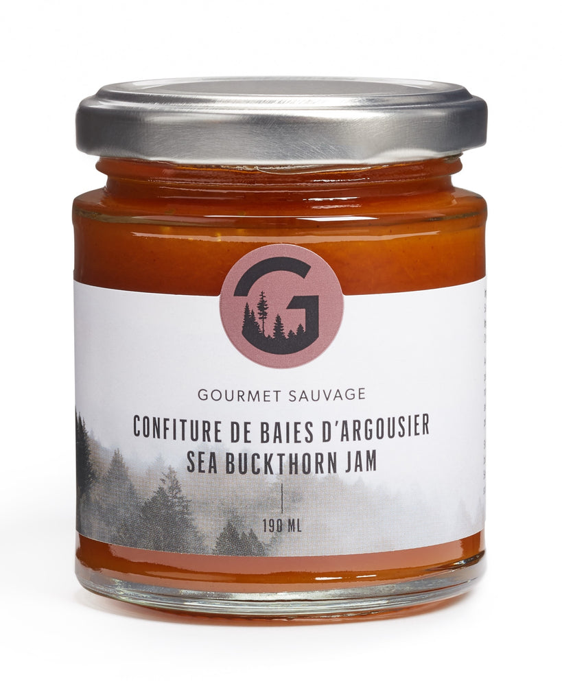 Sea buckthorn berry jam