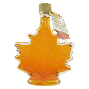 Load image into Gallery viewer, Maple syrup, maple leaf bottle