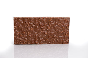 Puffed rice chocolate bar