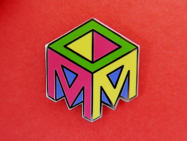 Studio Moross Logo Enamel Pin