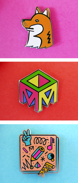 Studio Moross Badge Set