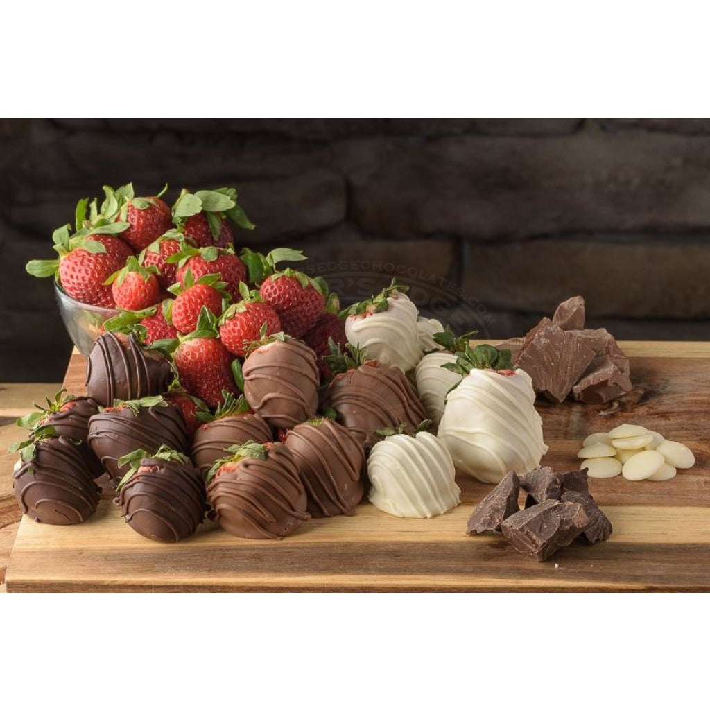Chocolate Covered Strawberry Platter 20-25Ct (Local Pick-Up Only) Strawberries