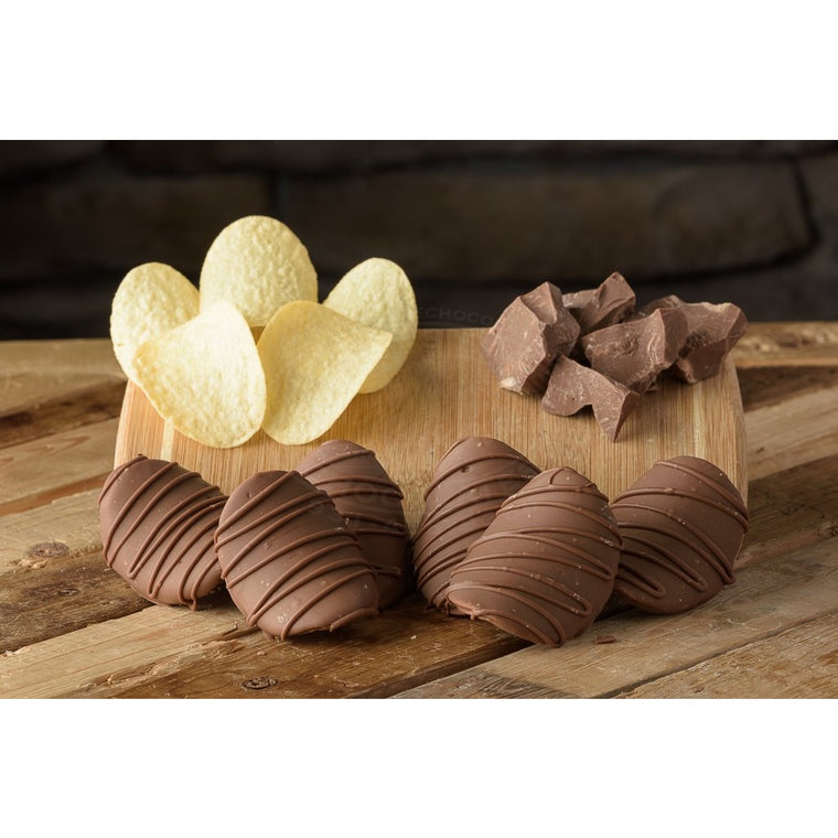 Chocolate Potato Chips
