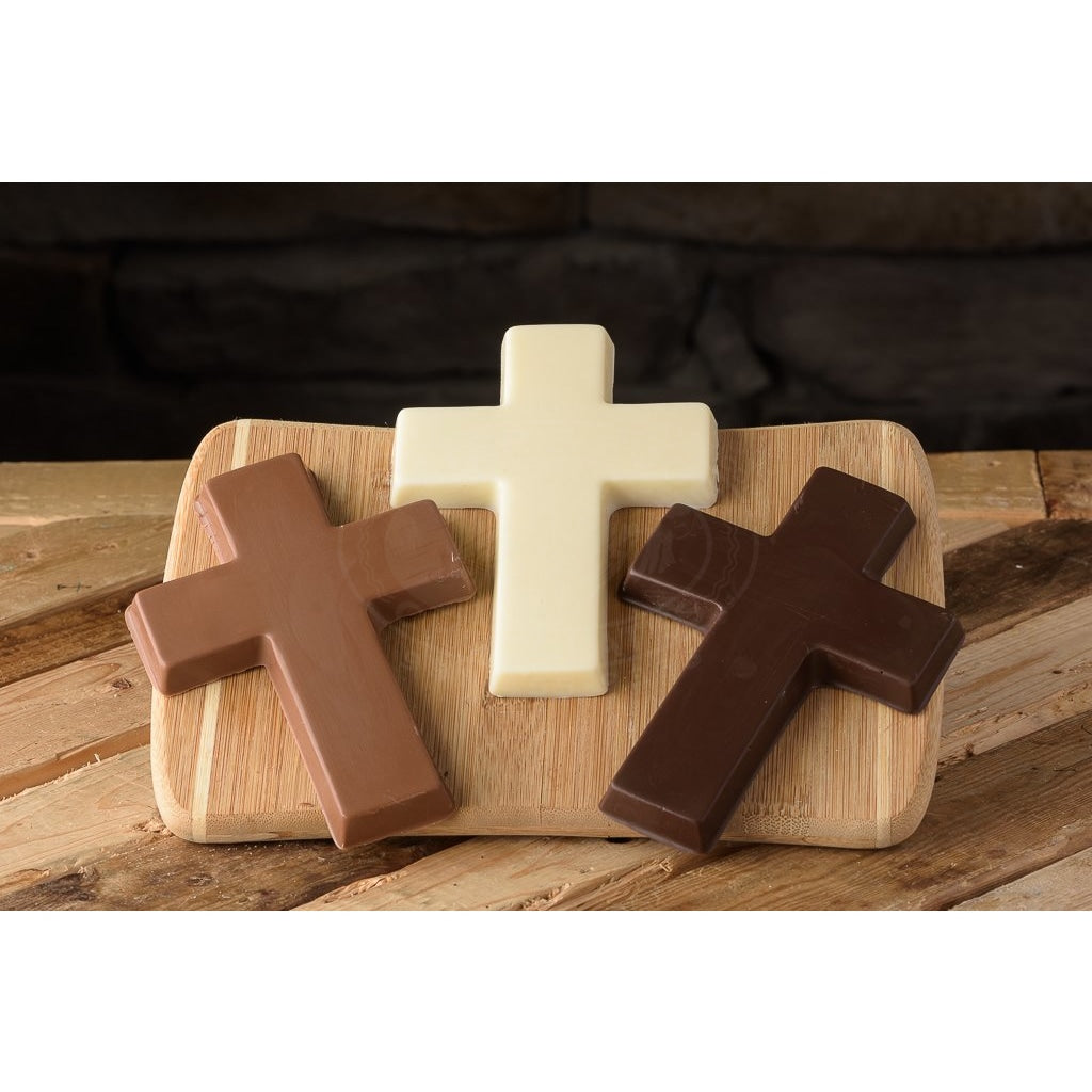Solid Chocolate Cross