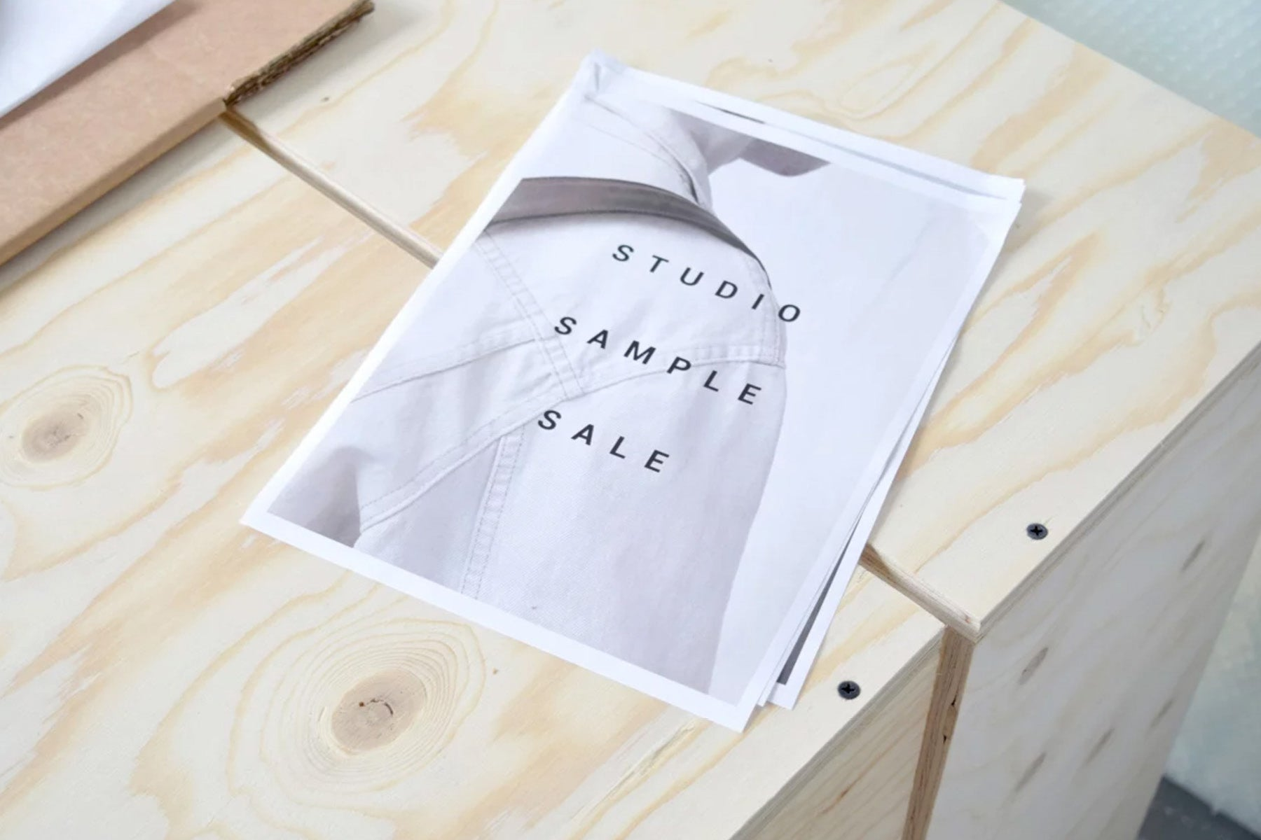 Event: Studio Sample Sale