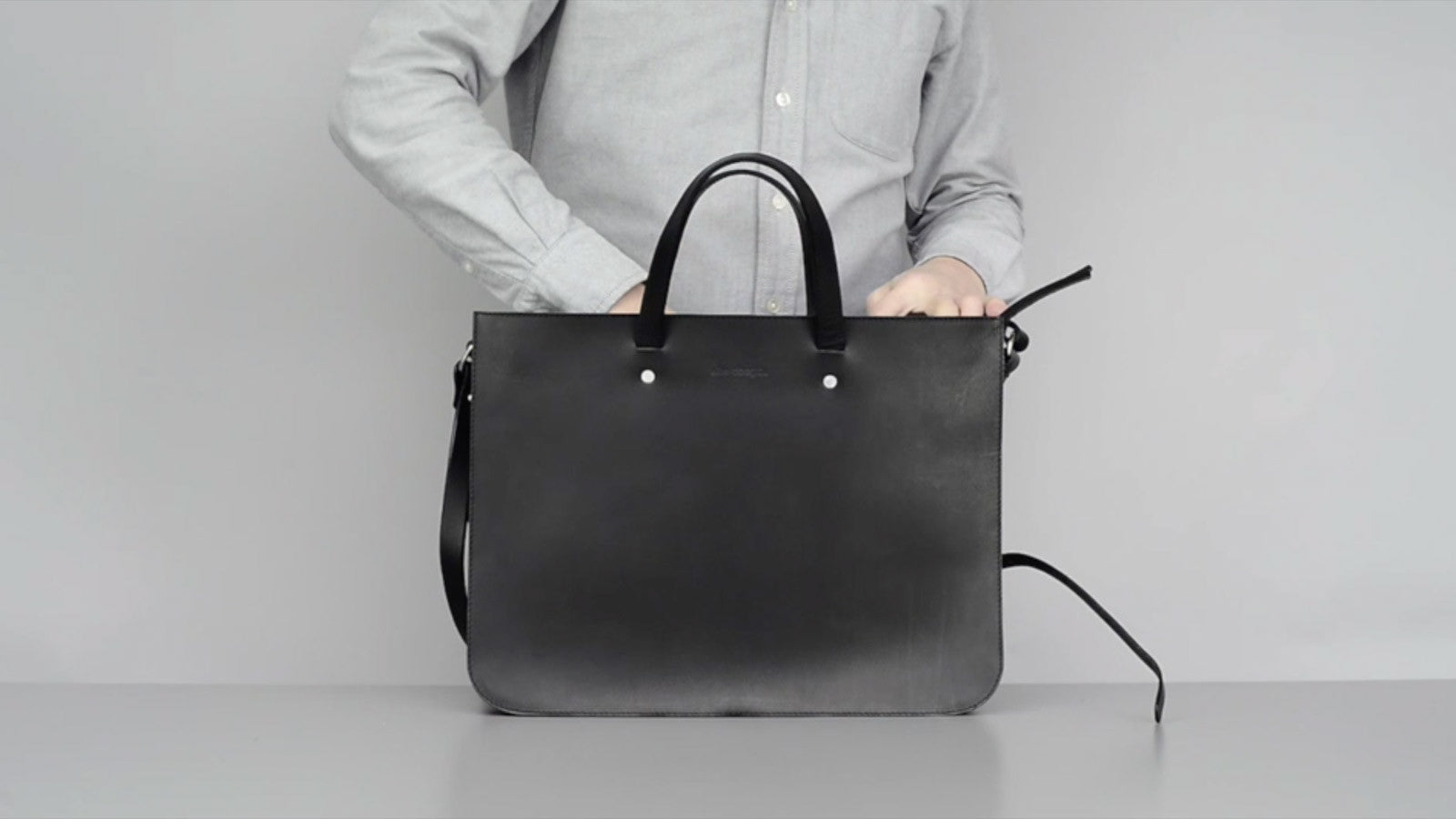 Briefcase Tote Video
